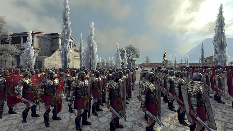 Maybourne's Armoured Romans Mod
