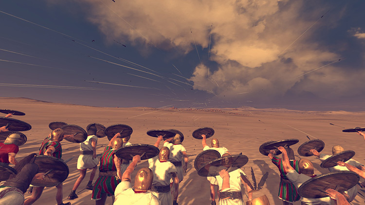 Better Arrows Mod Total War Rome II Mod