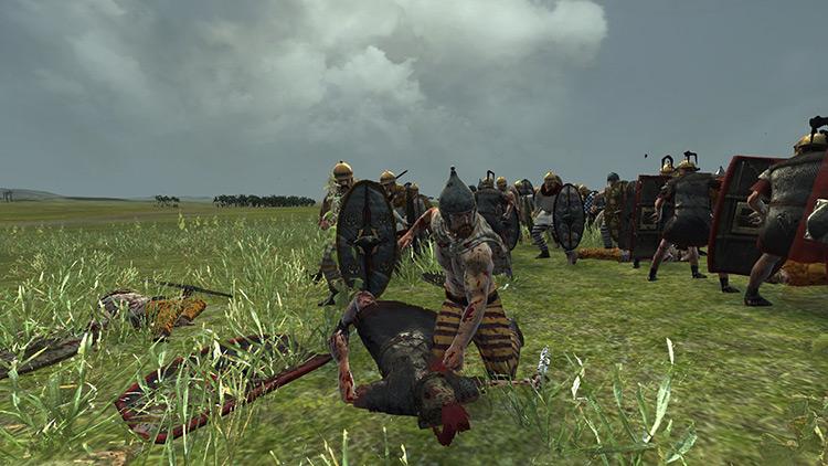 Kill Animation Overhaul Total War Rome II Mod screenshot