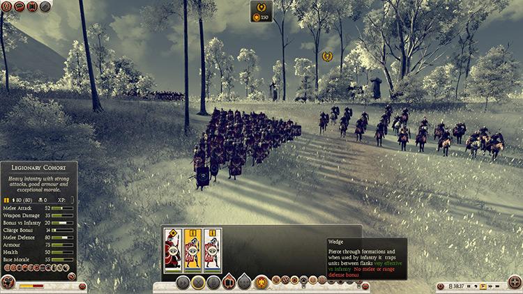 Realistic Legionary Tactics - TWR2 Mod screenshot