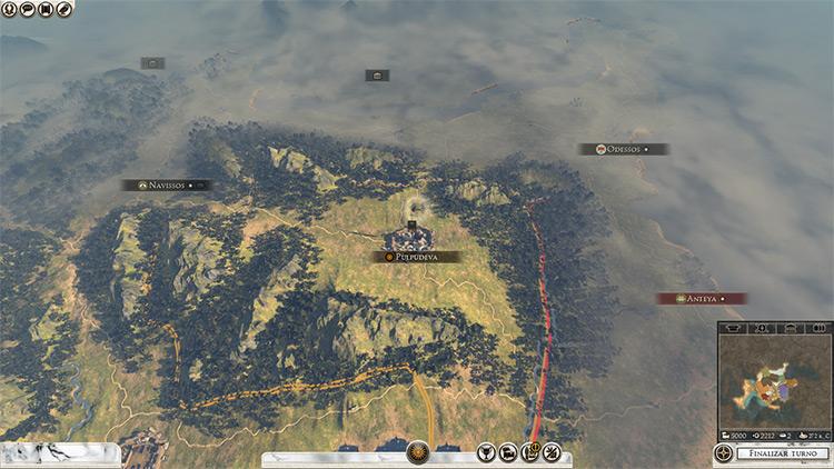 A World To Explore Total War Rome II Mod screenshot