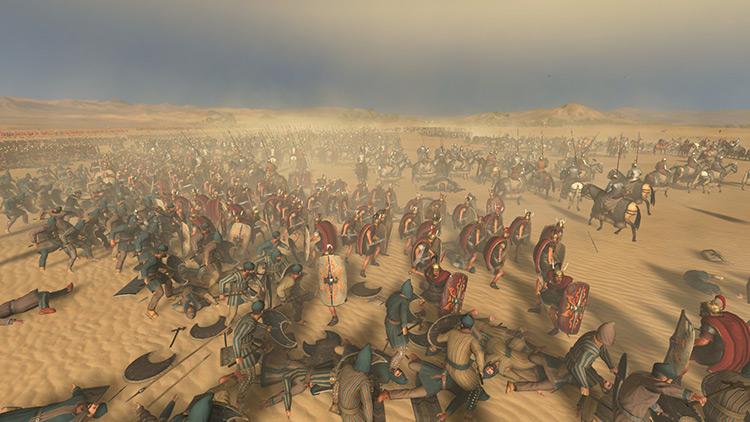 Enhanced Particles Total War Rome II Mod screenshot