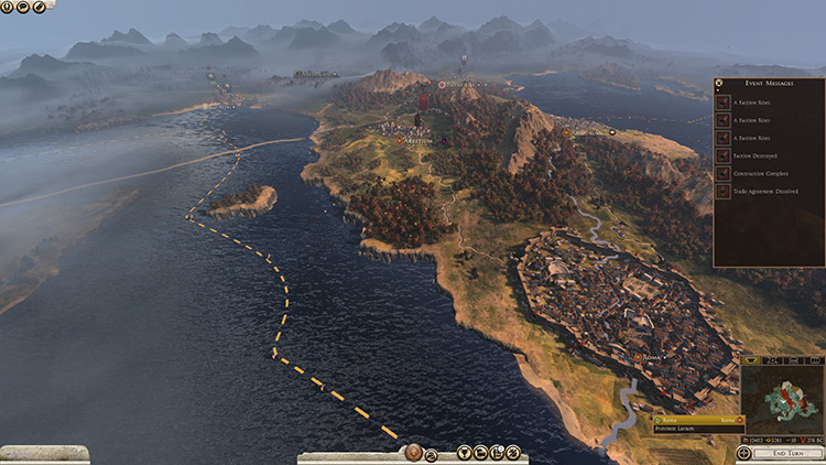 Better Water III HD Total War Rome II screenshot