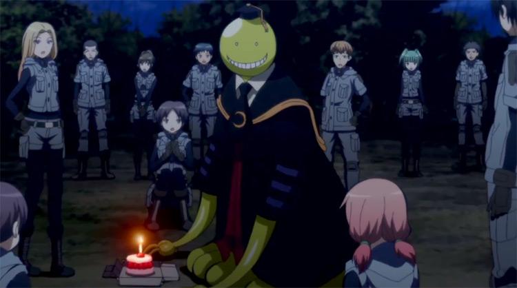 Koro-Sensei with Class E