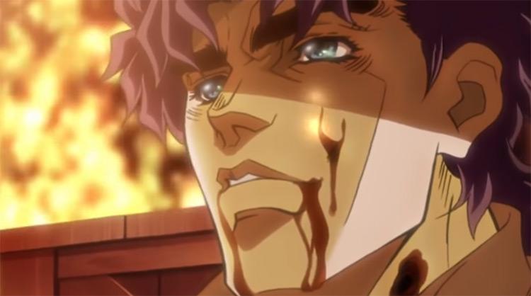 Death of JJ in JoJo's Bizarre Adventure Anime