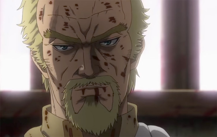 Askeladd in battle - Vinland Saga Anime