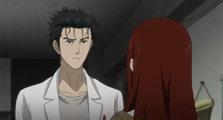 Rintarou Okabe in Steins;Gate: The Movie