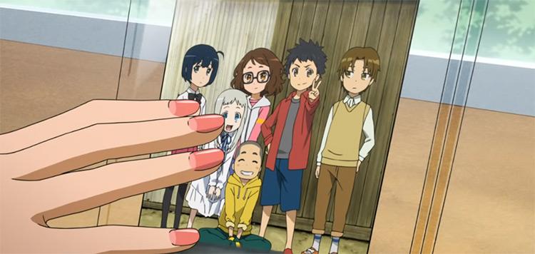 Anime characters - Anohana Anime