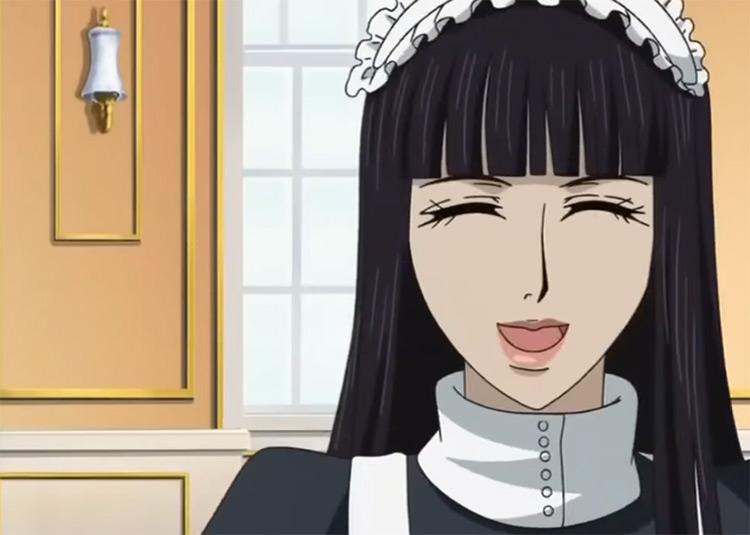 Sunako in maid dress - The Wallflower Anime