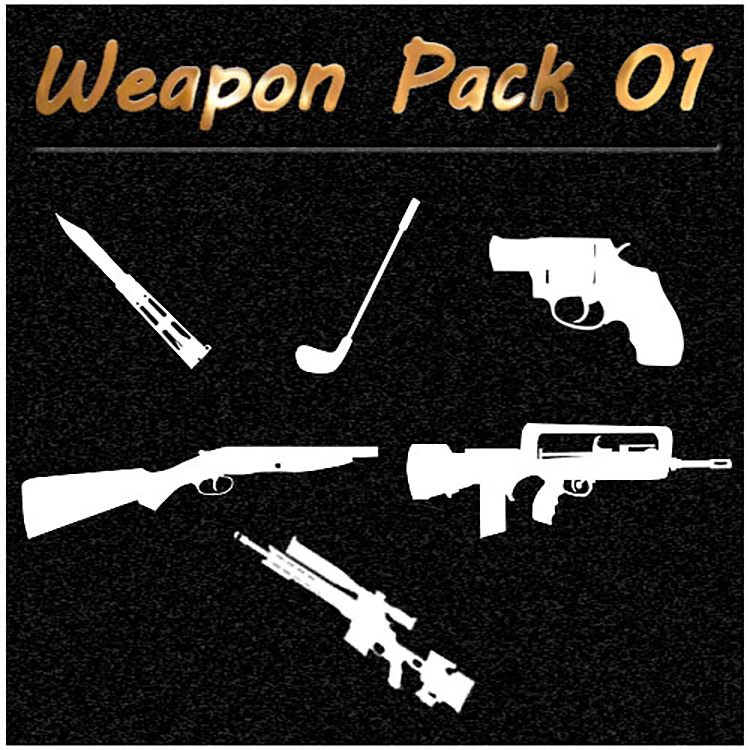 Weapons Pack 1 - This War Of Mine Mod
