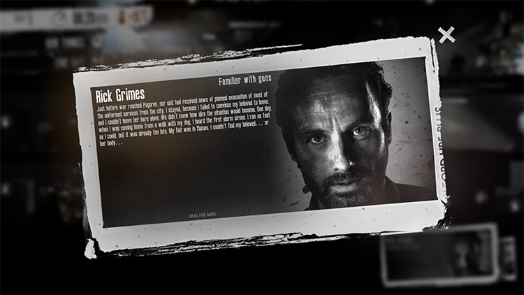 Rick Grimes - This War Of Mine Mod screenshot