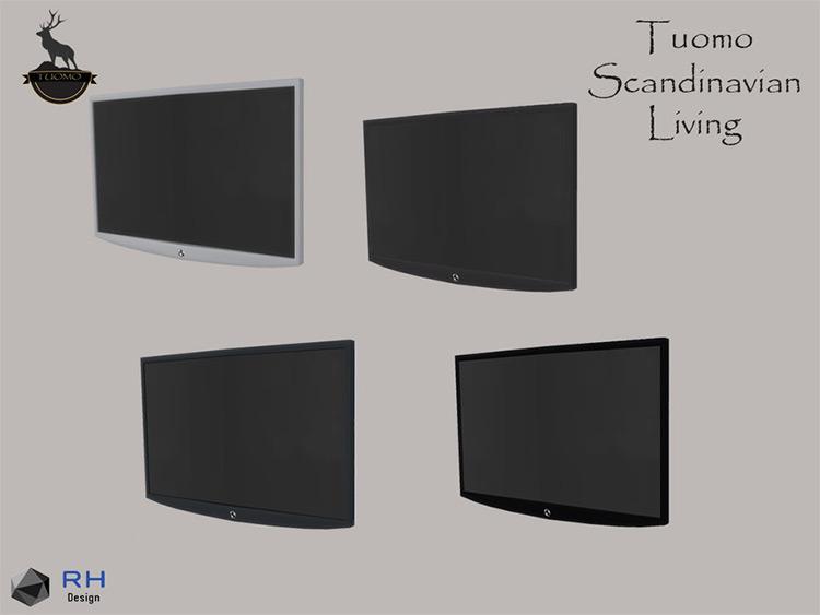 Tuomo NAX Flatscreen TV Mod - Sims 4 CC