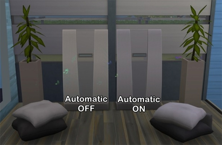 Automatic Stereo System - Sims 4 CC