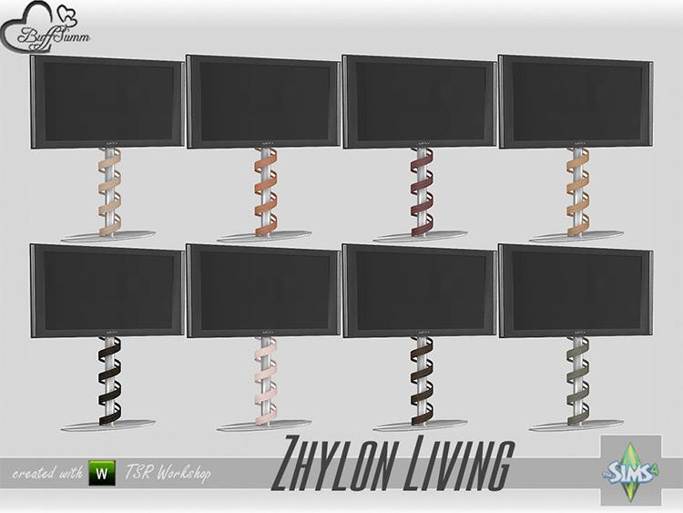 Living Zhylon Standing TV - Sims 4 CC