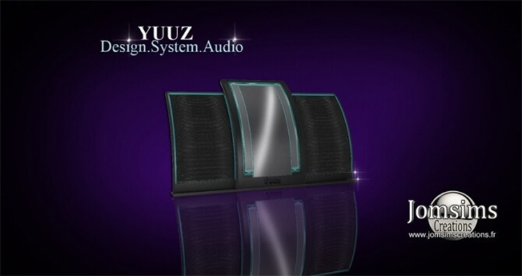 YUUZ Hi-Fi Audio System - Sims 4 CC