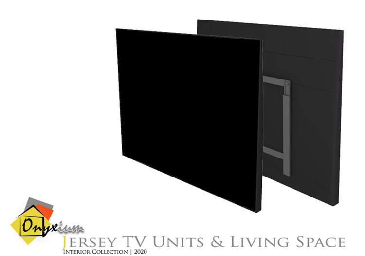 Jersey Wall Television CC - The Sims 4