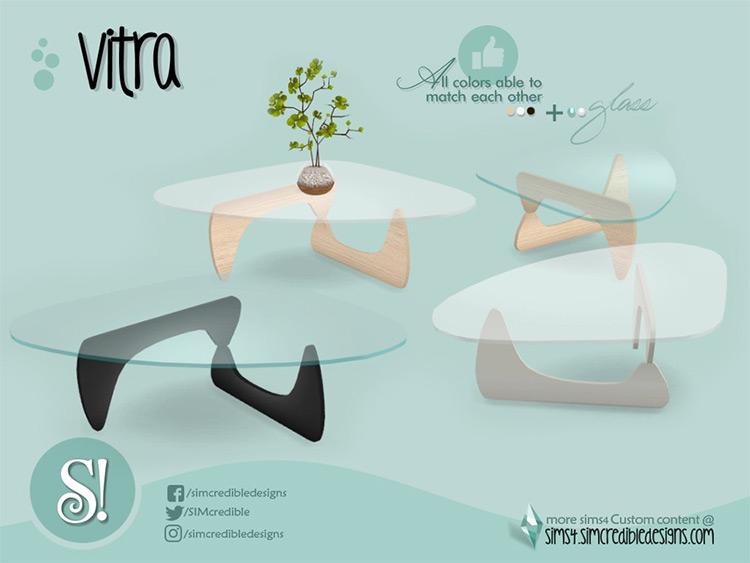 Sims 4 CC - Modern Style Vitra Coffeetable