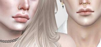 Pralinesims DIY nose rings CC - TS4 preview