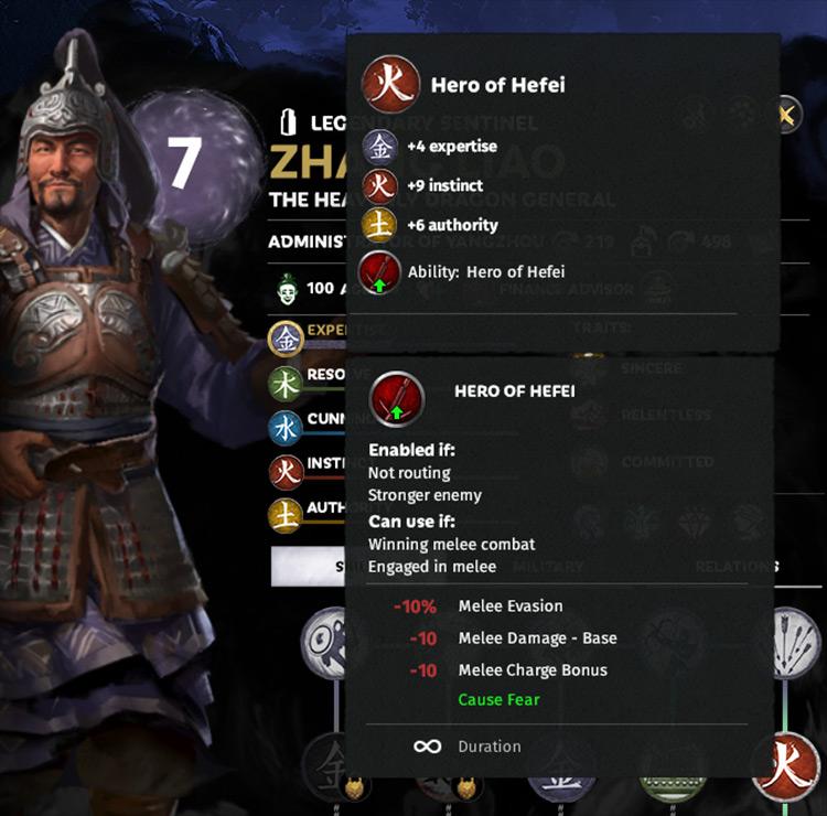 Havie Improved Skill Trees Total War: Three Kingdoms mod