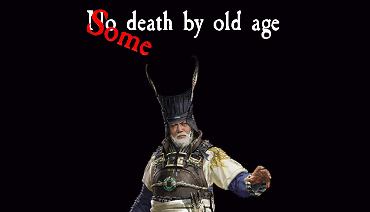 Some Death By Old Age mod Total War: Three Kingdoms