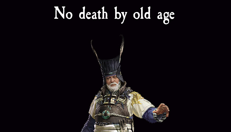 No Death By Old Age mod for Total War: Three Kingdoms
