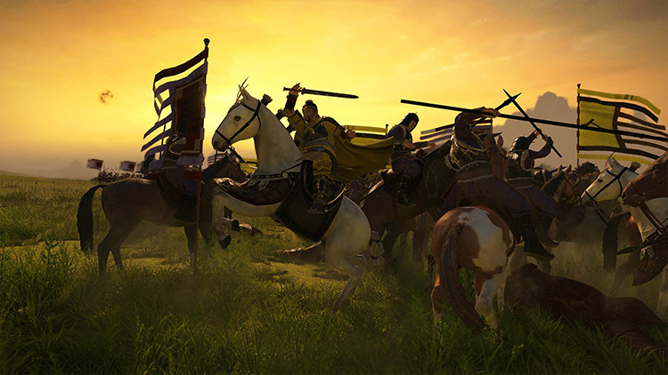 Captains For All Units Total War: Three Kingdoms mod