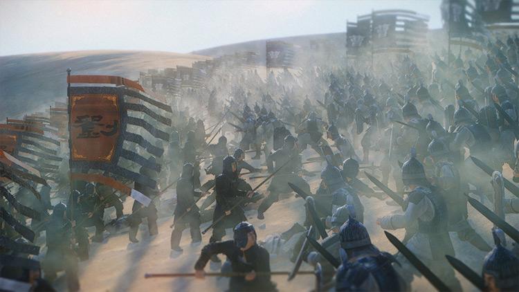 Enhanced Dust Particles Total War: Three Kingdoms mod