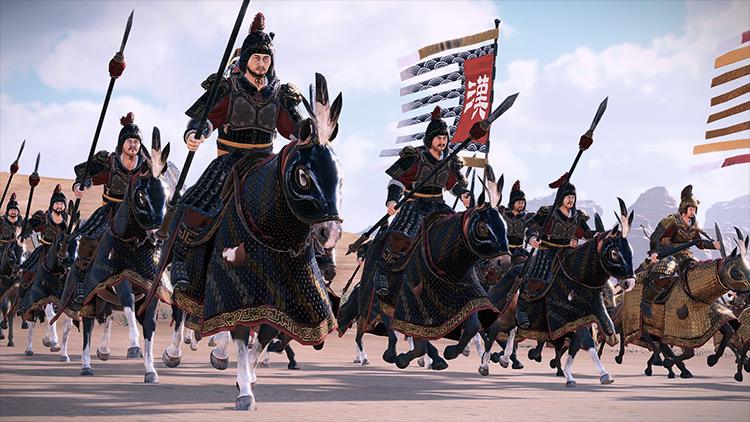 Horse Equipment Overhaul mod Total War: Three Kingdoms