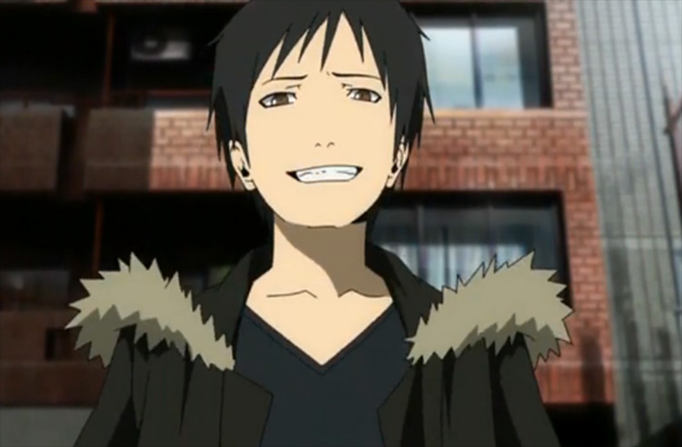 Izaya Orihara Durarara!! anime screenshot