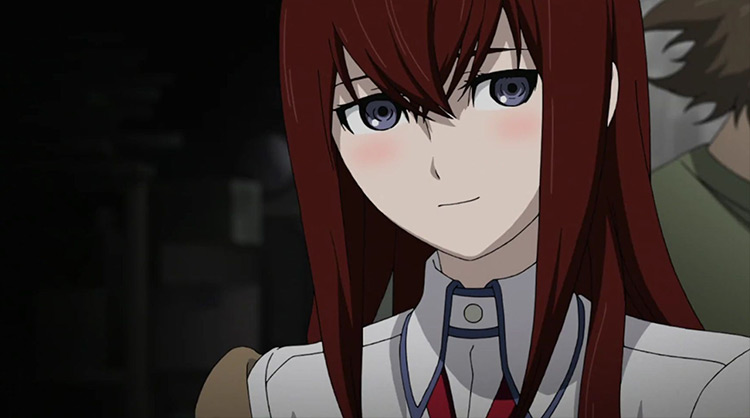 Kurisu Makise Steins; Gate screenshot
