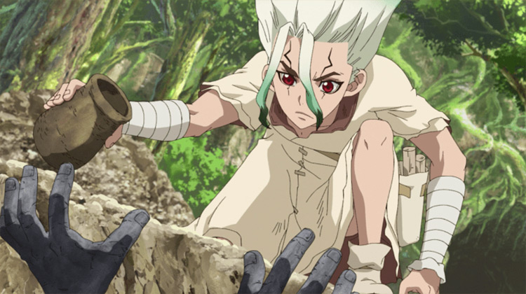 Senkuu from Dr. Stone anime