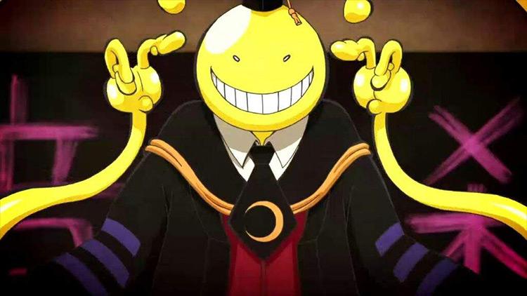 Koro Sensei from Assassination Classroom