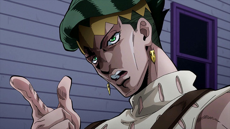 Rohan Kishibe from JoJo's Bizarre Adventure: Diamond is Unbreakable