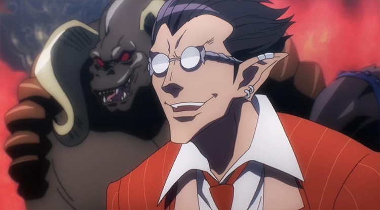 Demiurge from Overlord anime