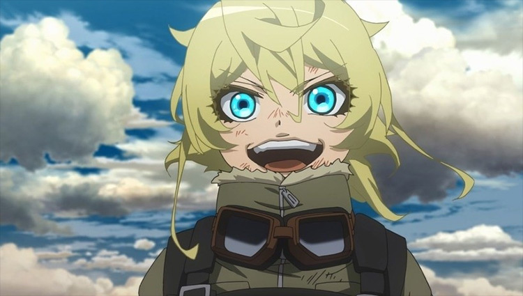 Tanya Degurechaff from The Saga of Tanya the devil anime