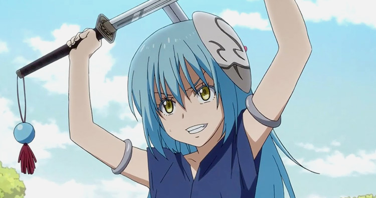 Rimuru Tempest from That Time I Got Reincarnated as a Slime