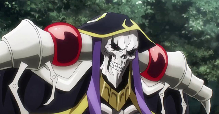 Ainz Ooal Gown from Overlord anime