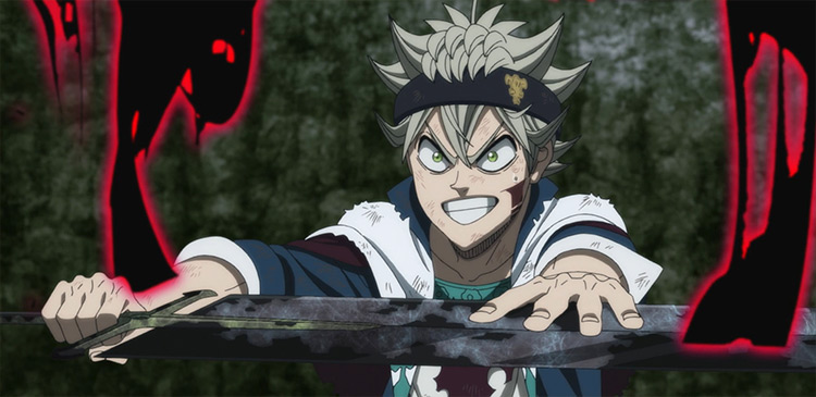 Asta from Black Clover anime