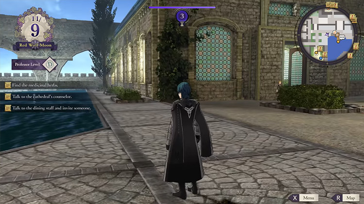 Fire Emblem: Three Houses game screenshot