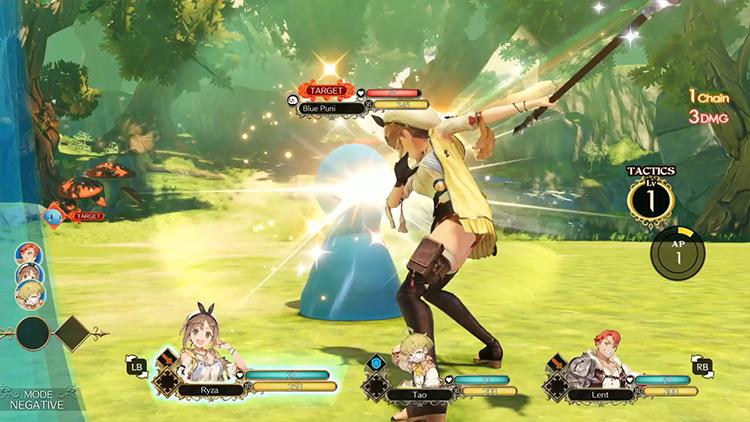 Atelier Ryza gameplay screenshot
