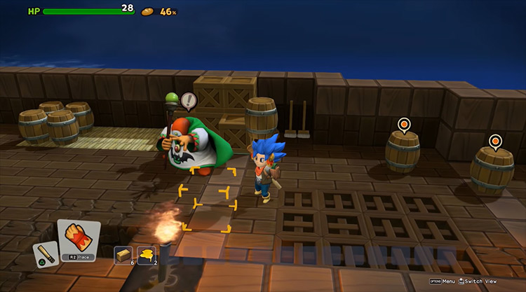 Dragon Quest Builders 2 gameplay screenshot
