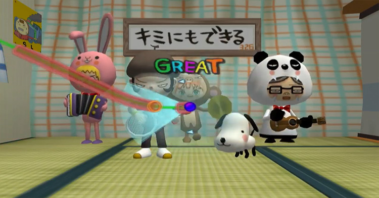 Gitaroo Man - game screenshot 2001