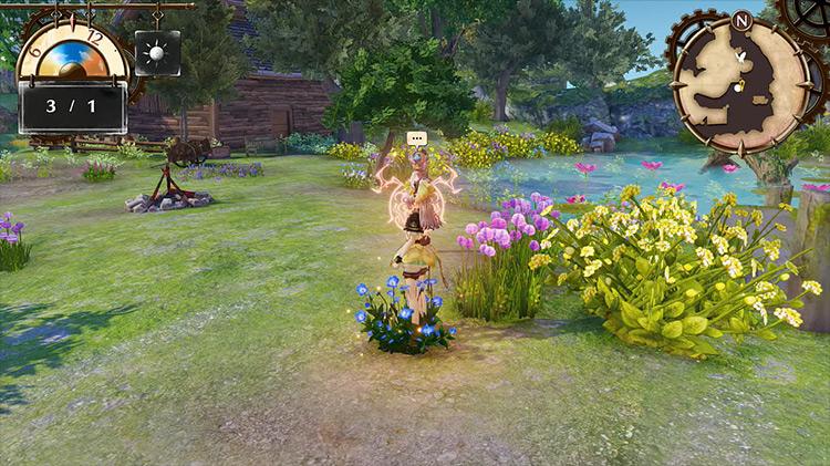 Atelier Lydie & Suelle - Screenshot of gameplay