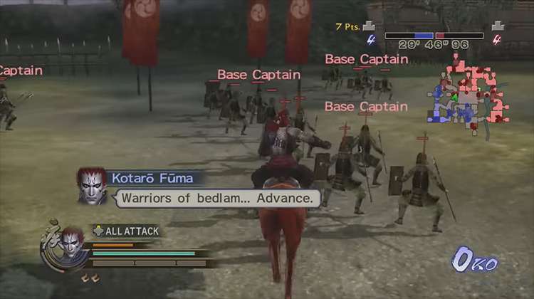 Samurai Warriors 2 Empires game