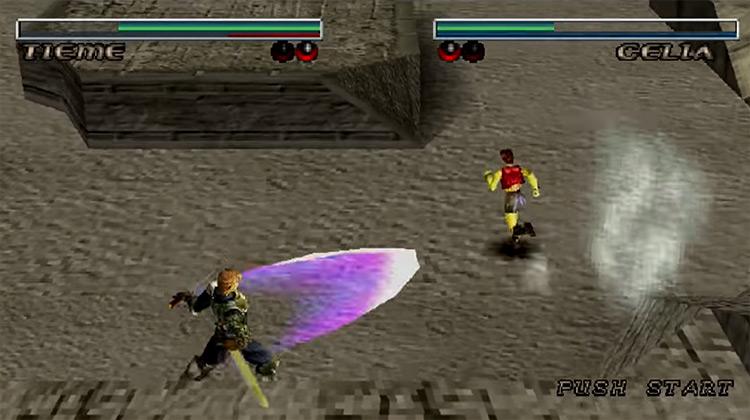 Destrega Koei Tecmo - game screenshot