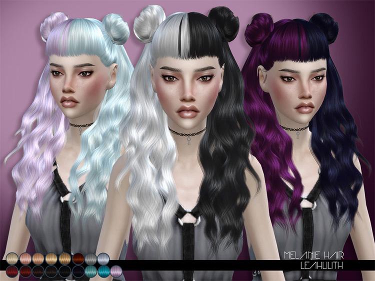 Melanie Hair Ombre-style CC