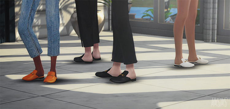 MMSIMS Gucci Princetown Slippers CC