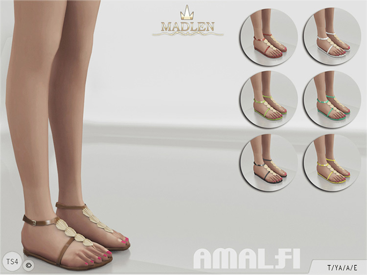 Madlen Amalfi Shoes & Slippers CC
