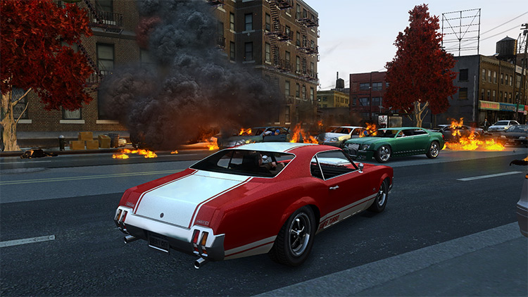 GTA 4 Beautification Project Mod Screenshot