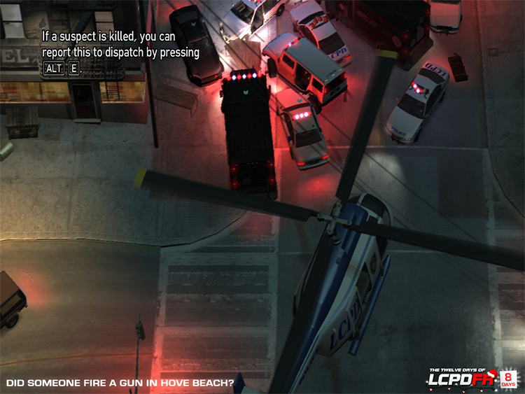 LCPD First Response Mod for GTA4